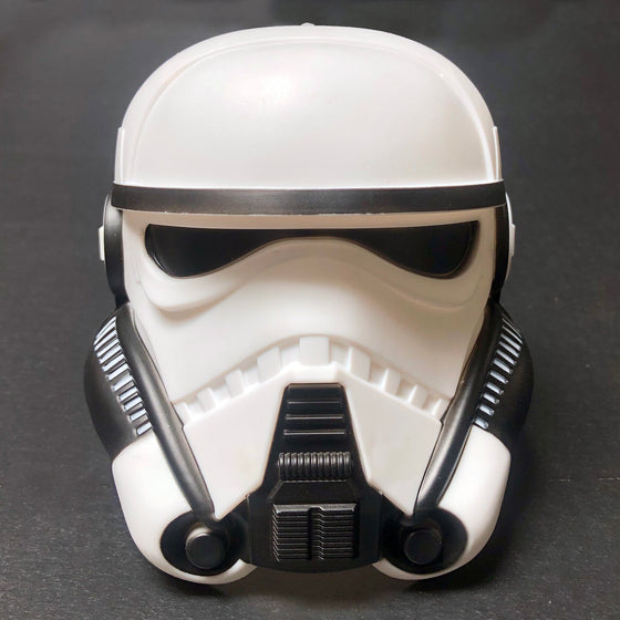 Star Wars - Patrol Trooper Helmet - Movie Theater Exclusive 44 oz Lid (Cup not included) - Display Geek