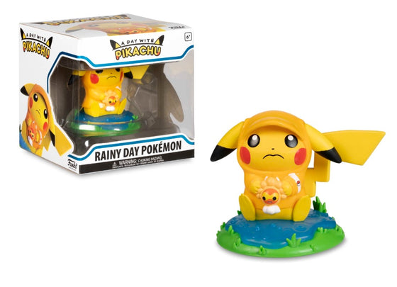 A Day with Pikachu - Rainy Day Pokemon *7/10 box*