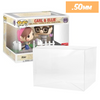 POP RIDES Large Carl Ellie Protectors for Funko Vinyl Collectible Figures, 50mm thick  popshield vaulted vinyl