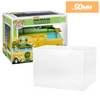 POP RIDES Large Truck Turtle Van Protectors for Funko Vinyl Collectible Figures, 50mm thick  popshield vaulted vinyl