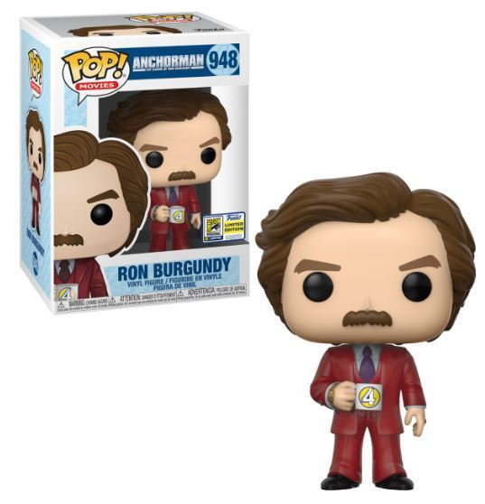Ron Burgundy Anchorman (SDCC Sticker)