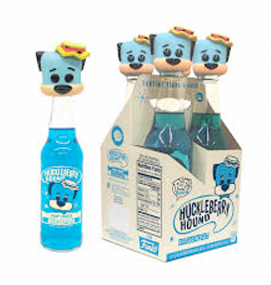 4 Pack of Huckleberry Hound Blueberry Soda (SDCC Pop Up Shop)