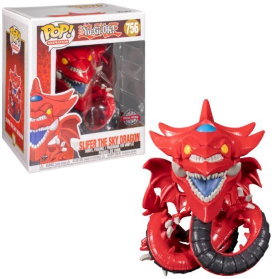 "6"" Slifer the Sky Dragon (Special Edition) *7/10 box slice*"