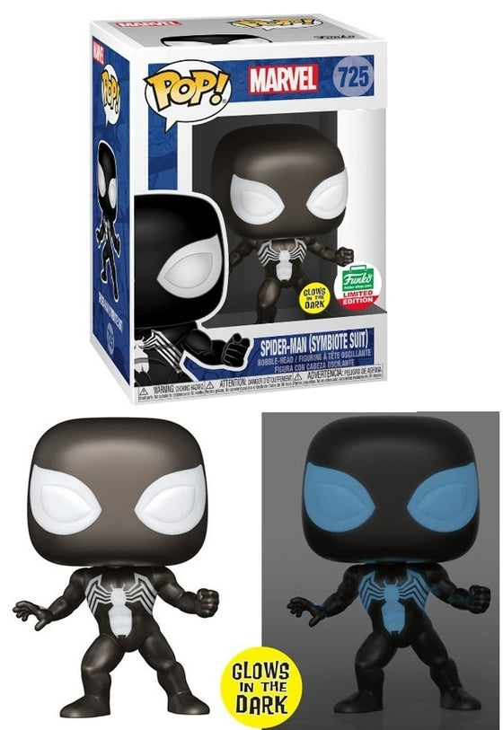 Spider-Man (Symbiote Suit) (Glow in the ...