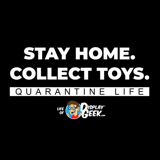 2020 Stay Home. Collect Toys. Display Geek - Short-Sleeve Unisex T-Shirt - Display Geek