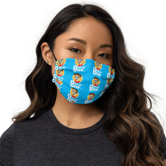 2020 Display Geek Pattern 1 - Premium face mask