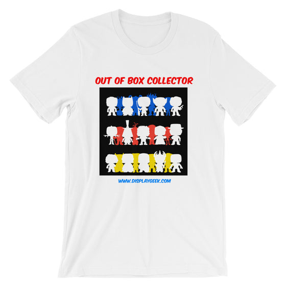 Display Geek OOB Out of Box Collector Unisex short sleeve t-shirt