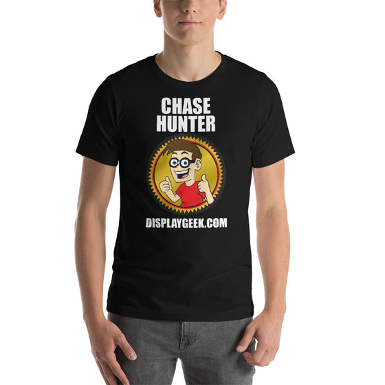 2019 Chase Hunter DIsplay Geek Short-Sleeve Unisex T-Shirt - Display Geek