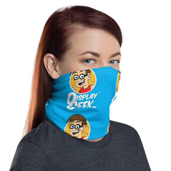 2020 Display Geek Pattern 1 - Neck Gaiter
