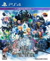 World of Final Fantasy Game with Art Book  - PS4 (Used)