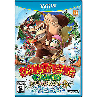 Donkey Kong Country Tropical Freeze - Wii U (Used)
