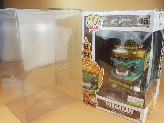 TOSSAKAN Pop Asia Protectors for Funko Vinyl Collectible Figures, 50mm thick