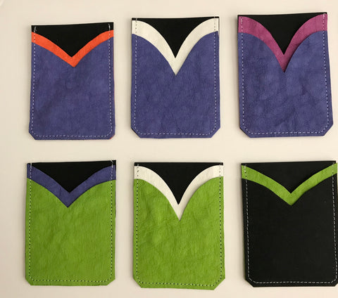 Colorful, Earth Friendly ID Holders