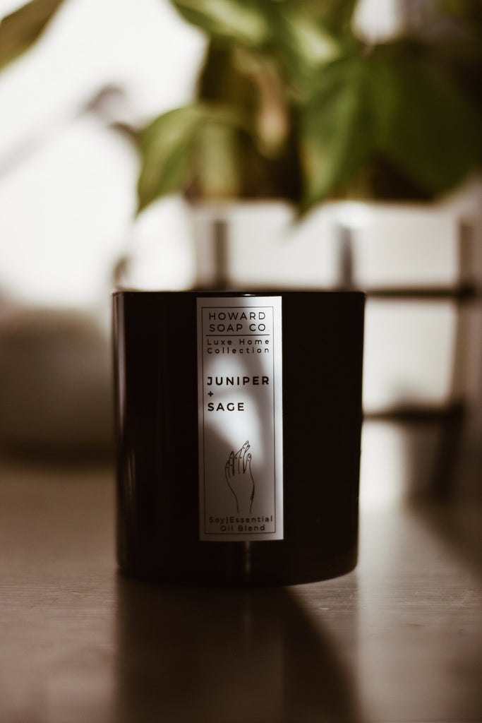 Essential Oil Candle - Juniper Sage