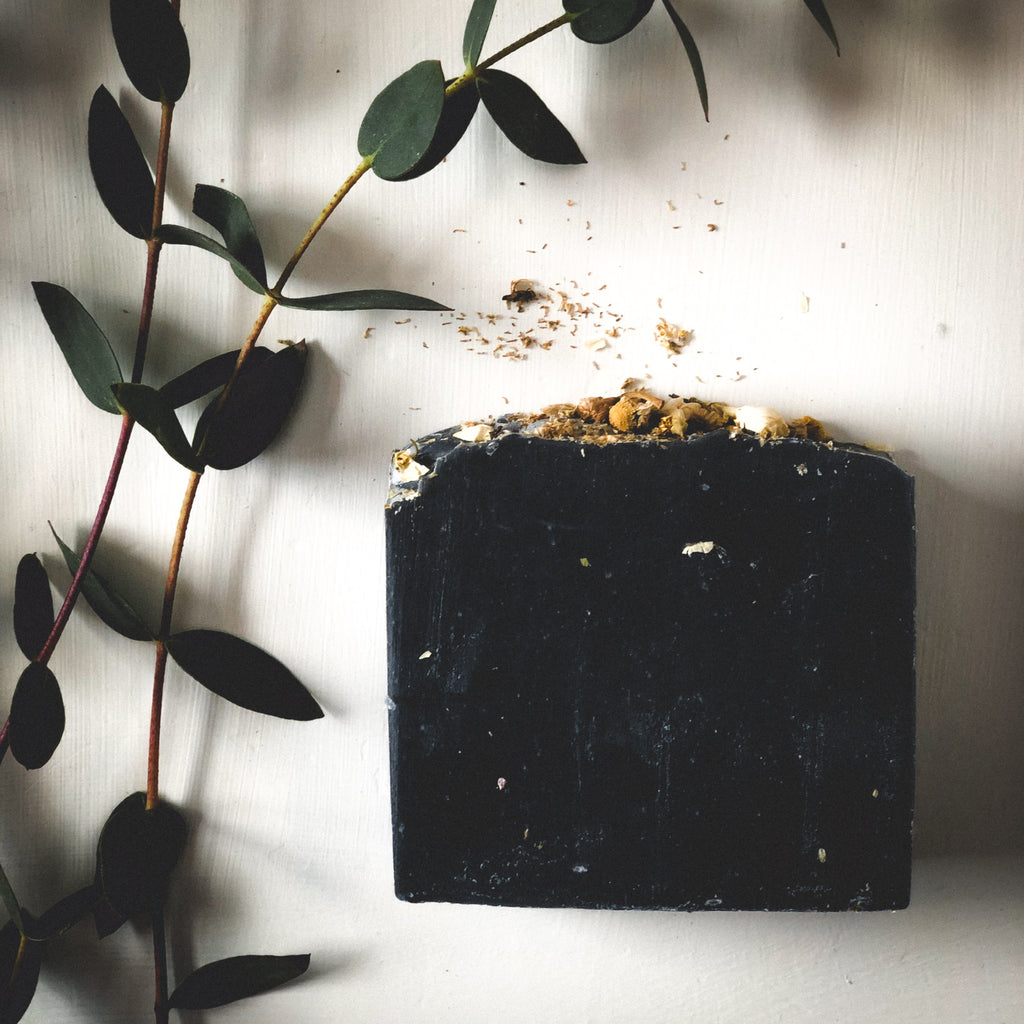 CHAMOMILE NOIR | BAR SOAP - Howard Soap Co. - Minnesota Made Herbal Skin Care + Candles