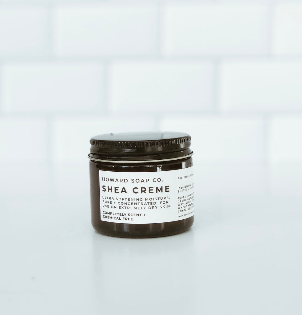 Shea Creme - Howard Soap Co. - Minnesota Made Herbal Skin Care + Candles