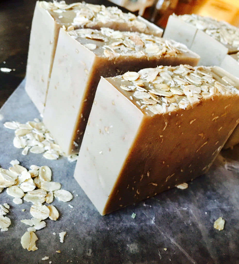 OATMEAL STOUT BAR SOAP - Howard Soap Co. - Minnesota Made Herbal Skin Care + Candles