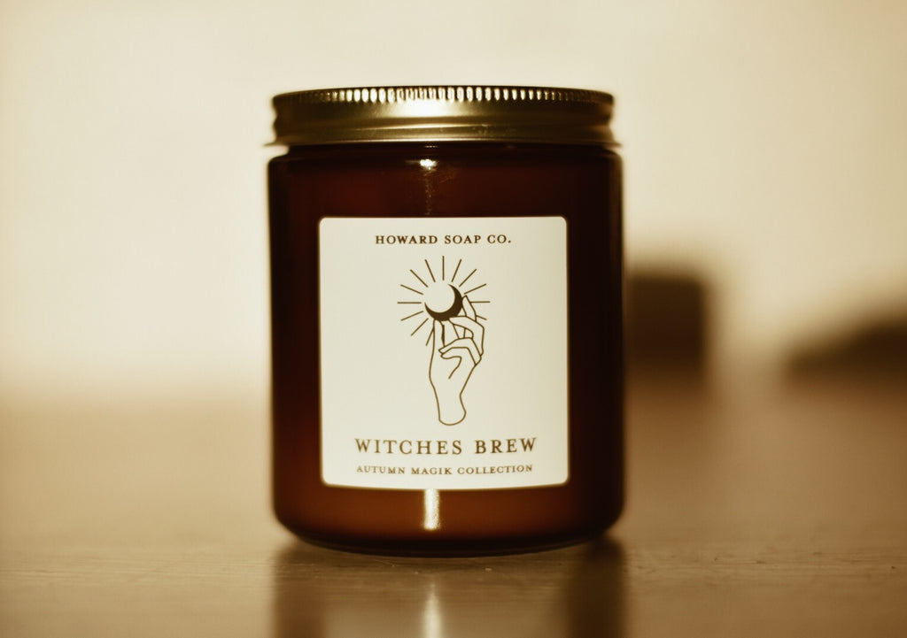 Witches Brew // Autumn Magik Collection - Howard Soap Co. - Minnesota Made Herbal Skin Care + Candles