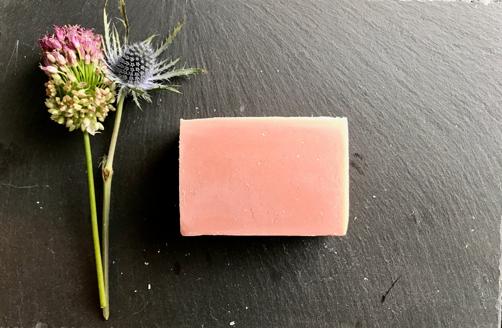 Pink Clay Detox Bar - Howard Soap Co. - Minnesota Made Herbal Skin Care + Candles