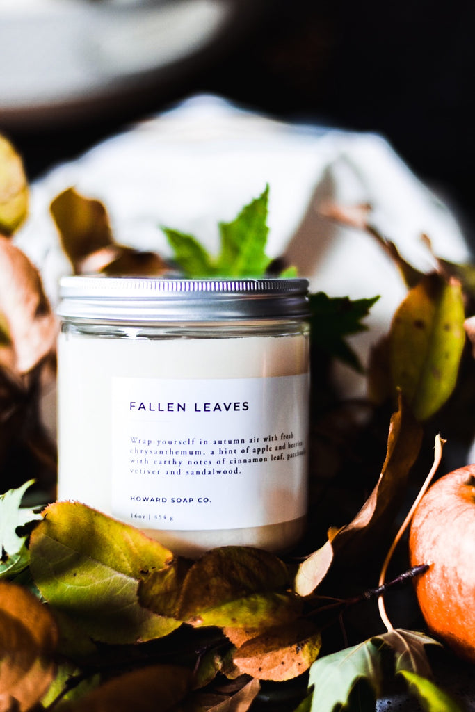 Fallen Leaves - Howard Soap Co. - Minnesota Made Herbal Skin Care + Candles