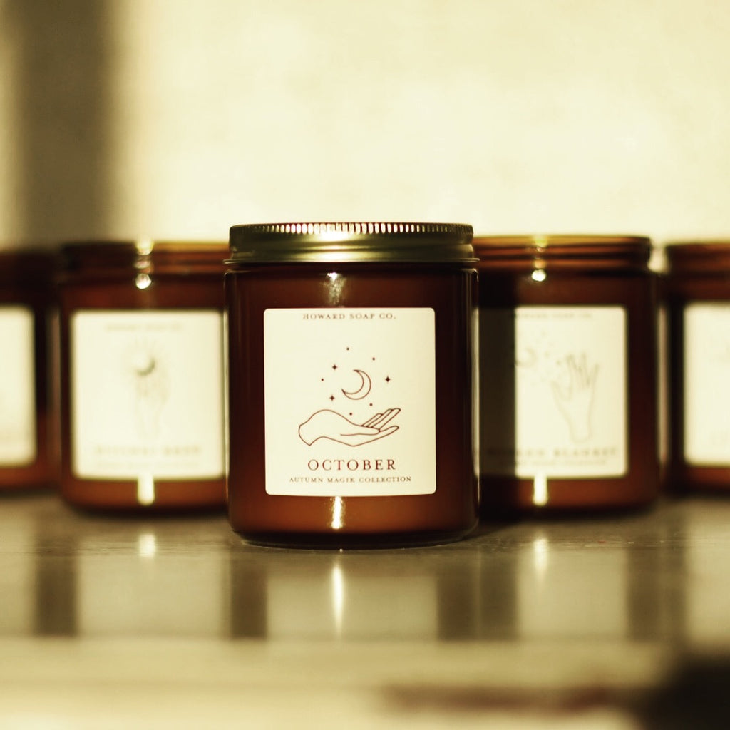 Autumn // Autumn Magik Collection - Howard Soap Co. - Minnesota Made Herbal Skin Care + Candles