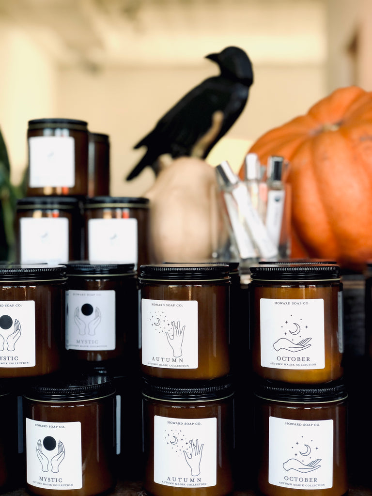 October // Autumn Magik Collection - Howard Soap Co. - Minnesota Made Herbal Skin Care + Candles