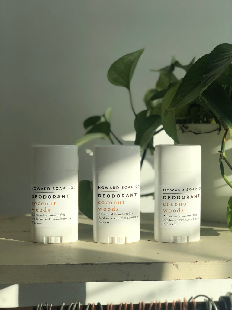 Natural Deodorant - Solid