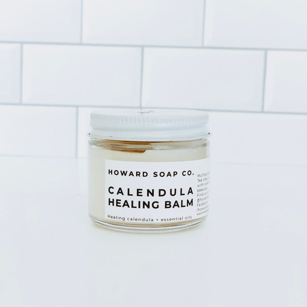 Calendula Healing Balm - Howard Soap Co. - Minnesota Made Herbal Skin Care + Candles