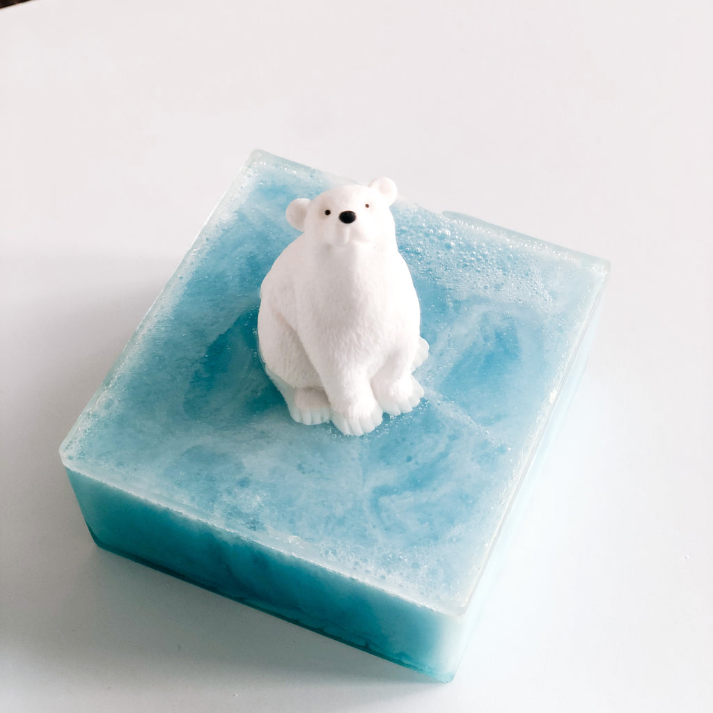 Polar Bear Glacier Soap - Howard Soap Co. - Minnesota Made Herbal Skin Care + Candles