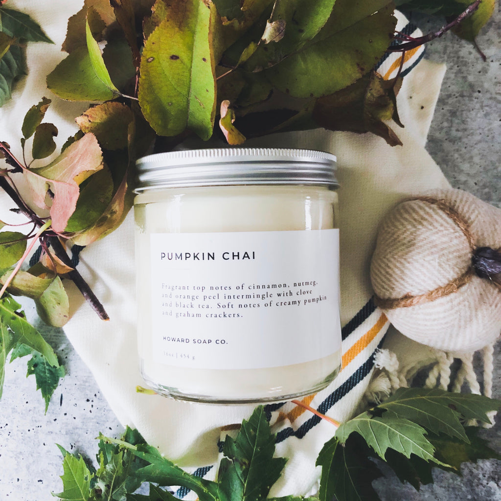 Pumpkin Chai - Howard Soap Co. - Minnesota Made Herbal Skin Care + Candles