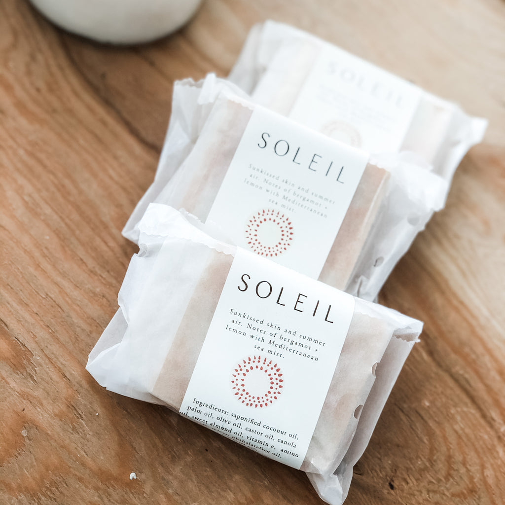 Soleil - Howard Soap Co. - Minnesota Made Herbal Skin Care + Candles
