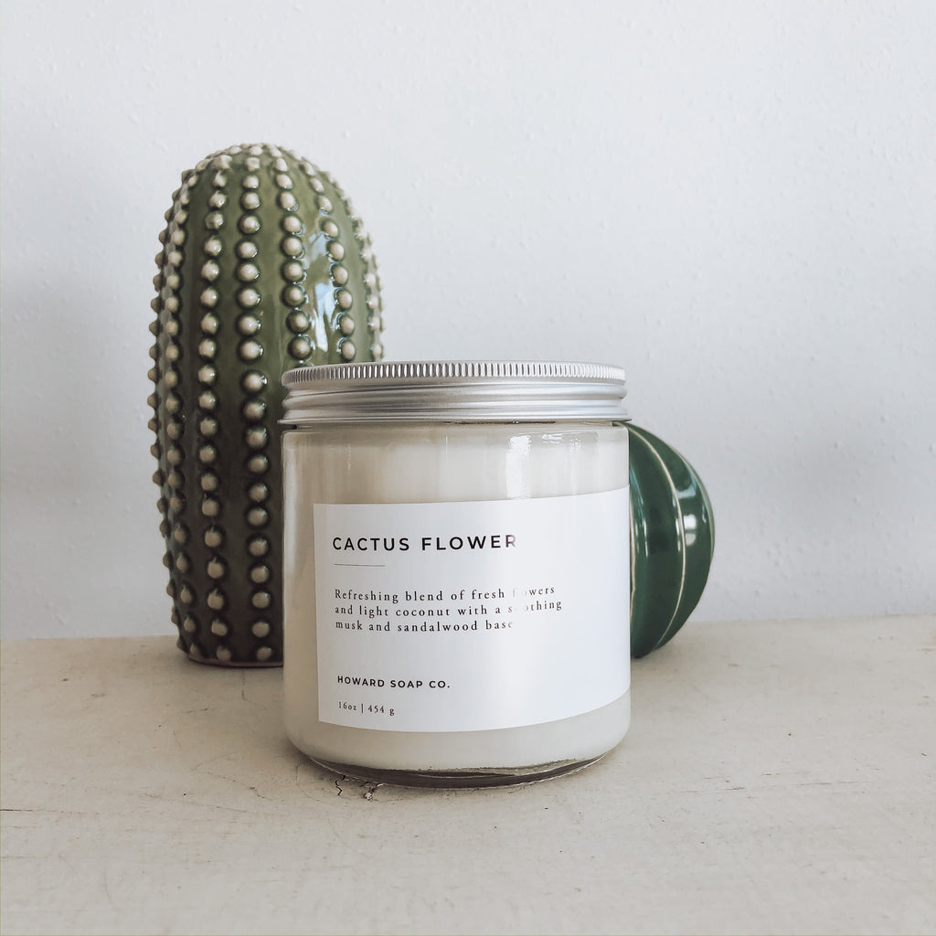 Cactus Flower - Howard Soap Co. - Minnesota Made Herbal Skin Care + Candles