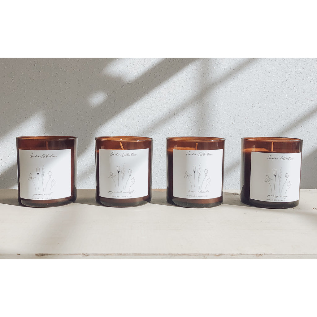 Garden Collection Candles