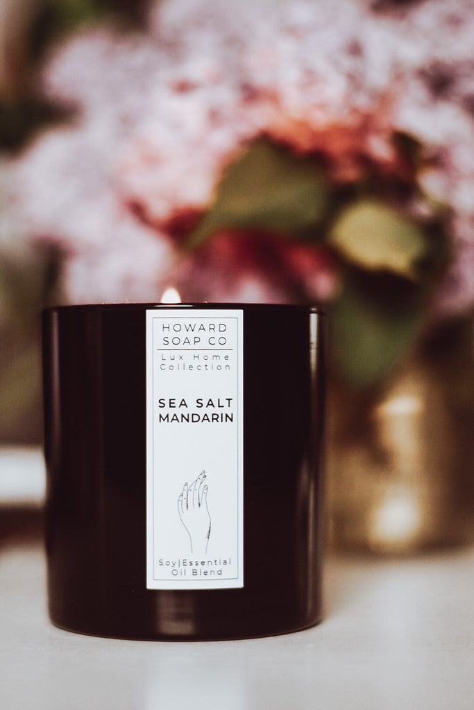 Luxe Essential Oil Candle Collection - Howard Soap Co. - Minnesota Made Herbal Skin Care + Candles