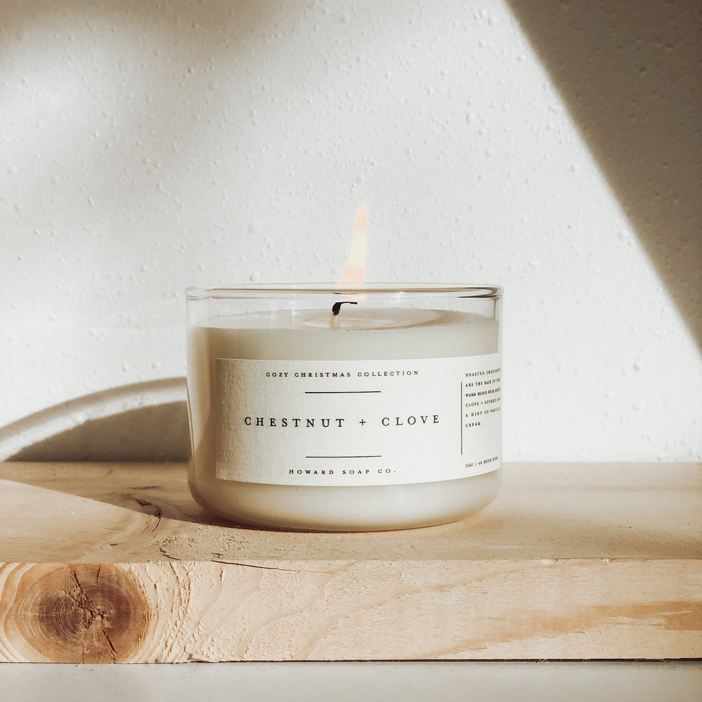 Cozy Christmas Collection - Howard Soap Co. - Minnesota Made Herbal Skin Care + Candles