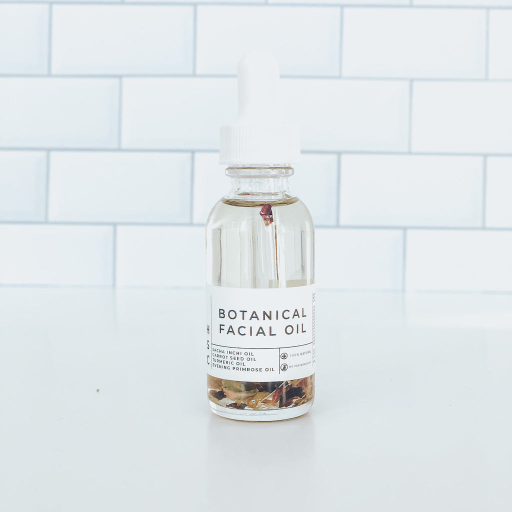 Botanical Facial Oil - Howard Soap Co. - Minnesota Made Herbal Skin Care + Candles
