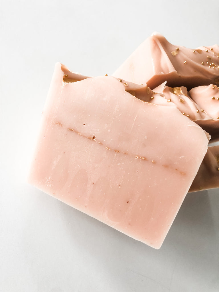 Rose Gold - Howard Soap Co. - Minnesota Made Herbal Skin Care + Candles