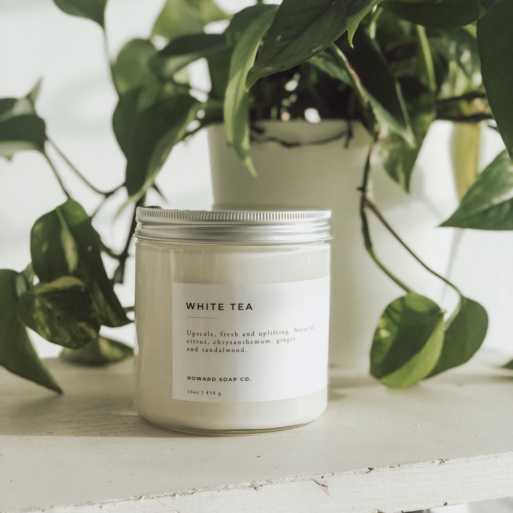White Tea - Howard Soap Co. - Minnesota Made Herbal Skin Care + Candles