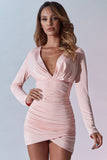 Angelina Dress - Blush