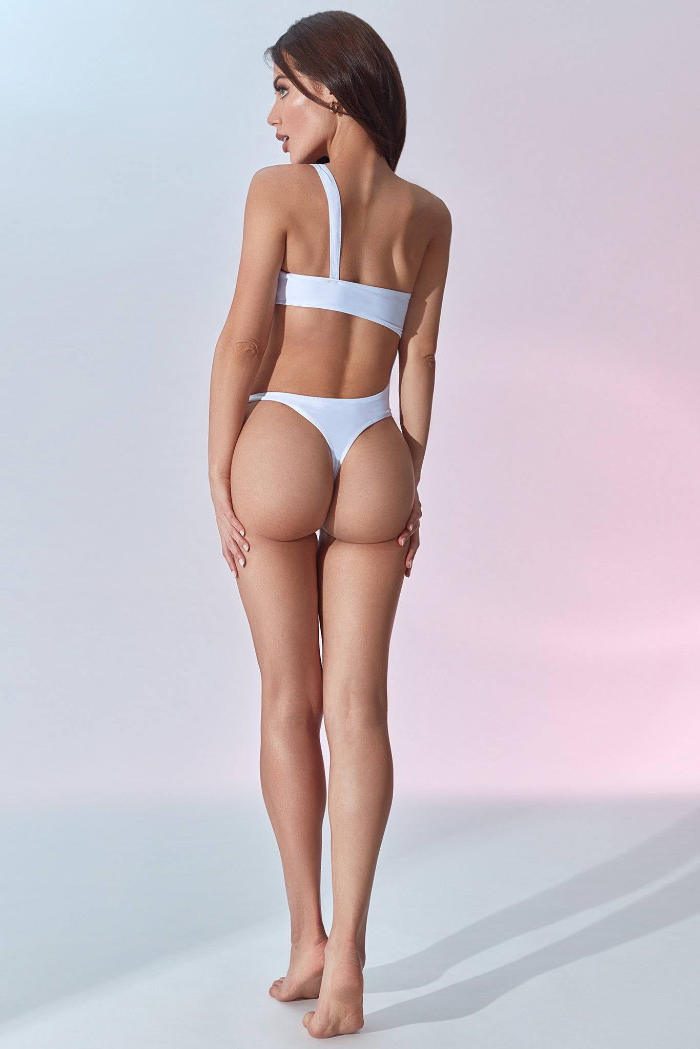 One Swimsuit - White - Back