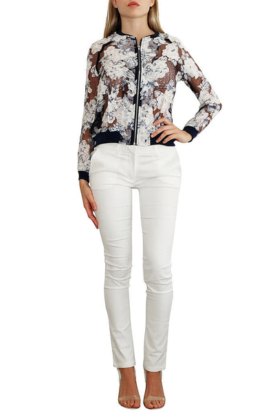 Darlin' Mesh Flower Jacket