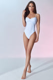 Fontainebleau Swimsuit - White - Front