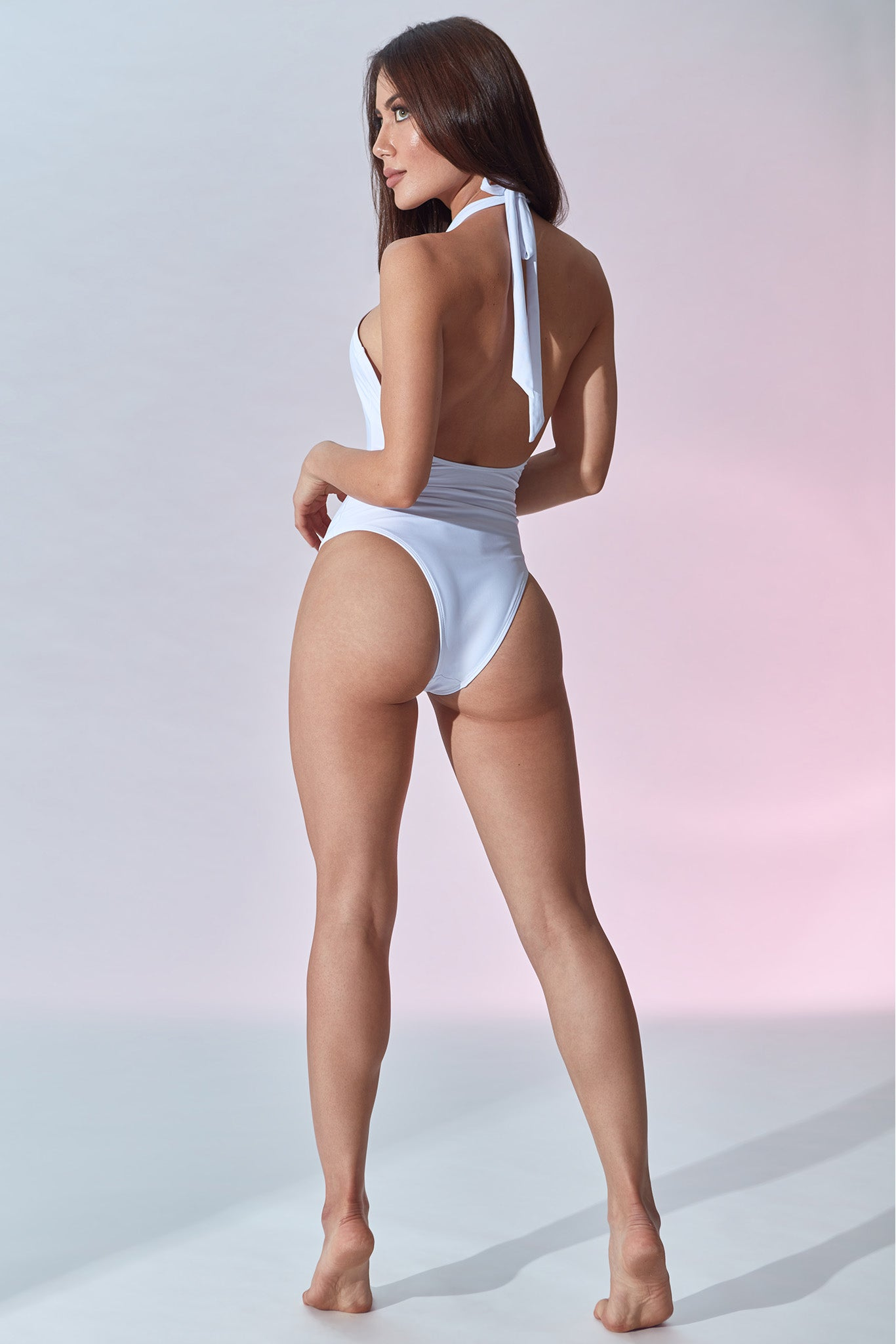 Setai Swimsuit - White - Side Back
