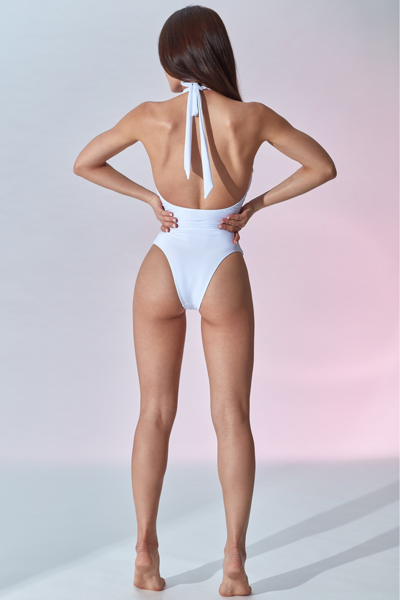 Setai Swimsuit - White - Back