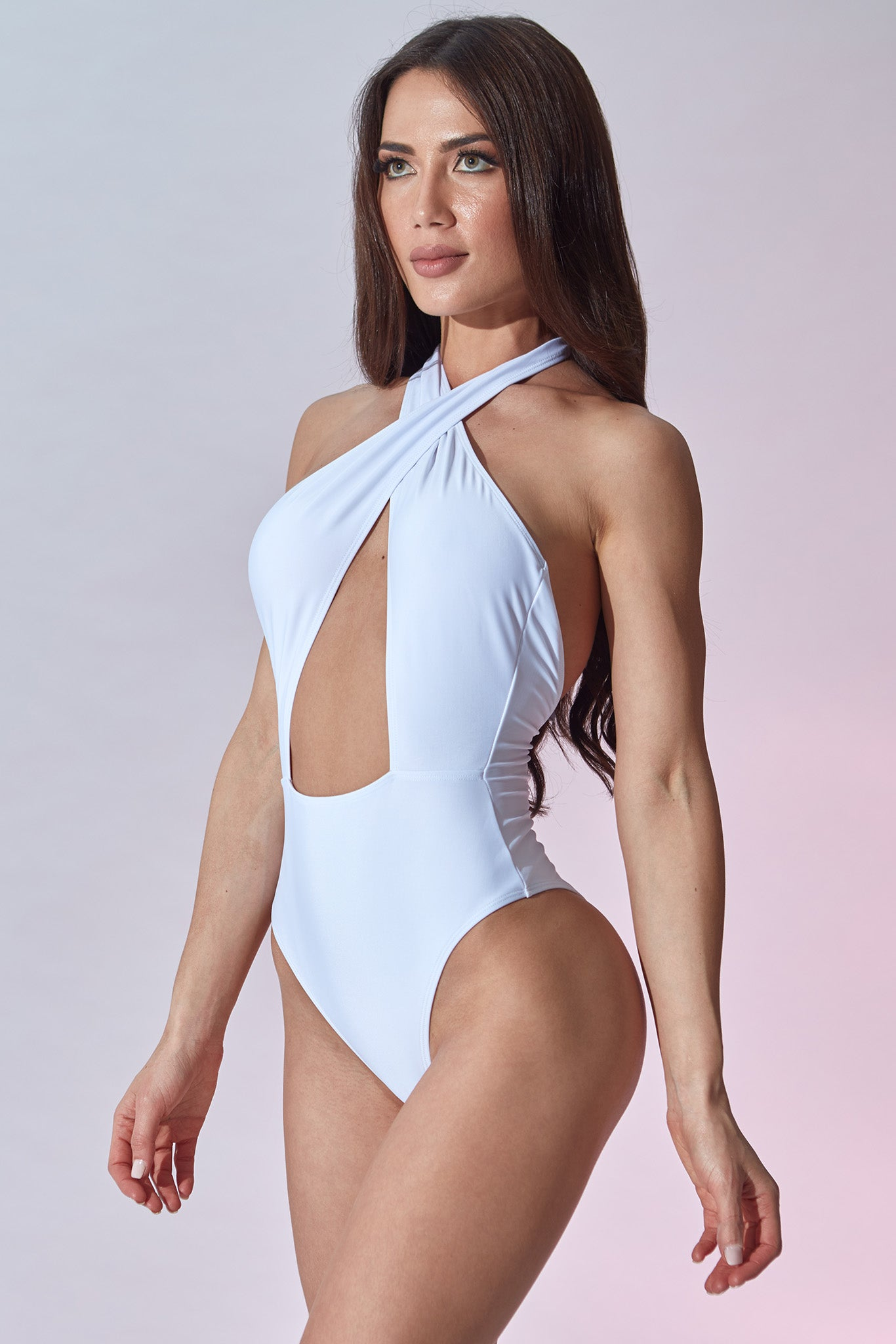 Setai Swimsuit - White - Side