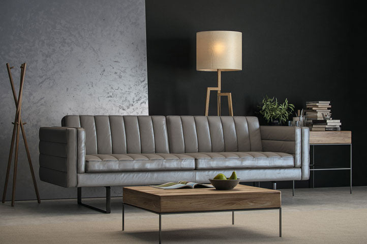 Leather Sofas In Stock by Moroni at Trade Source Furniture