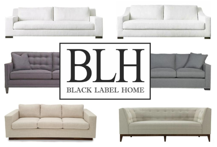 Black Label Home: Custom Sofas Made in LA.