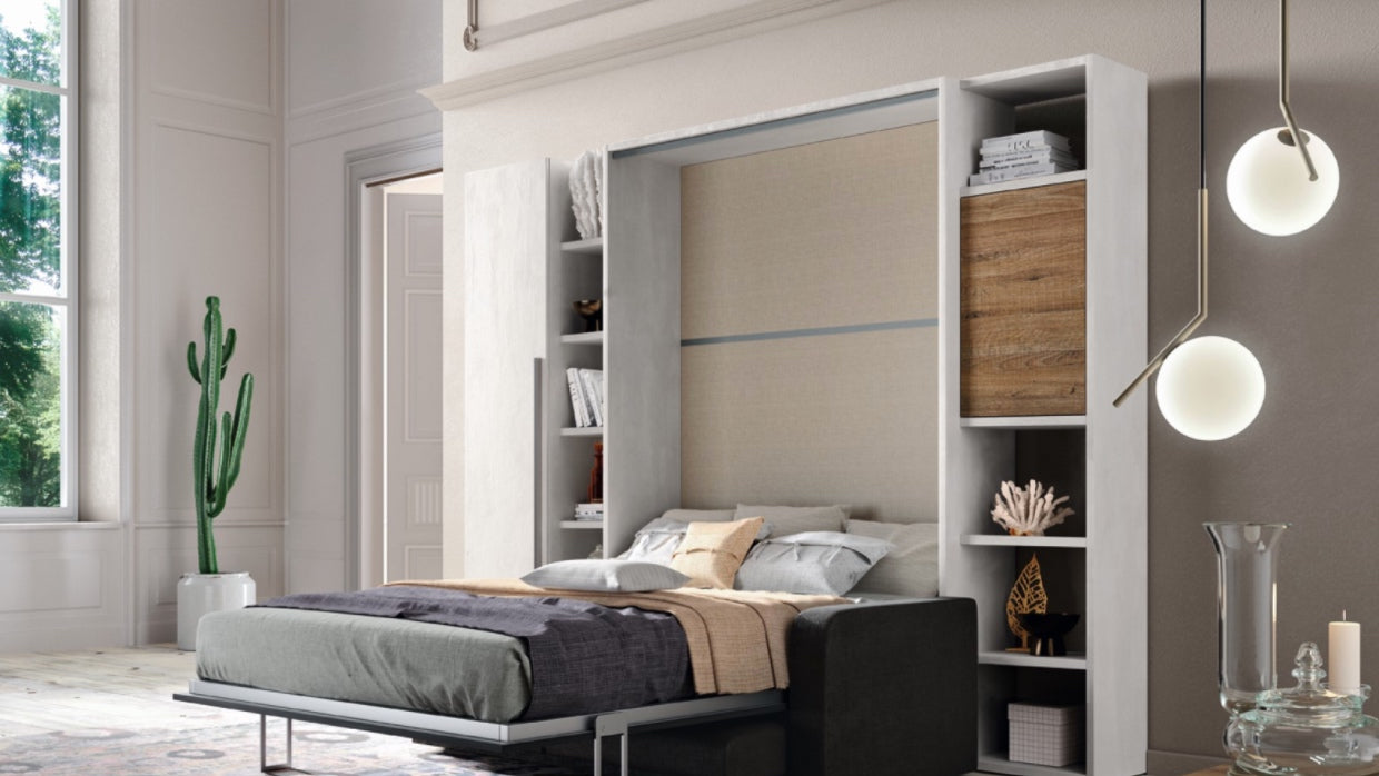 Modern Murphy Beds Bed When You Need It Space When You Want It Trade Source Furniture