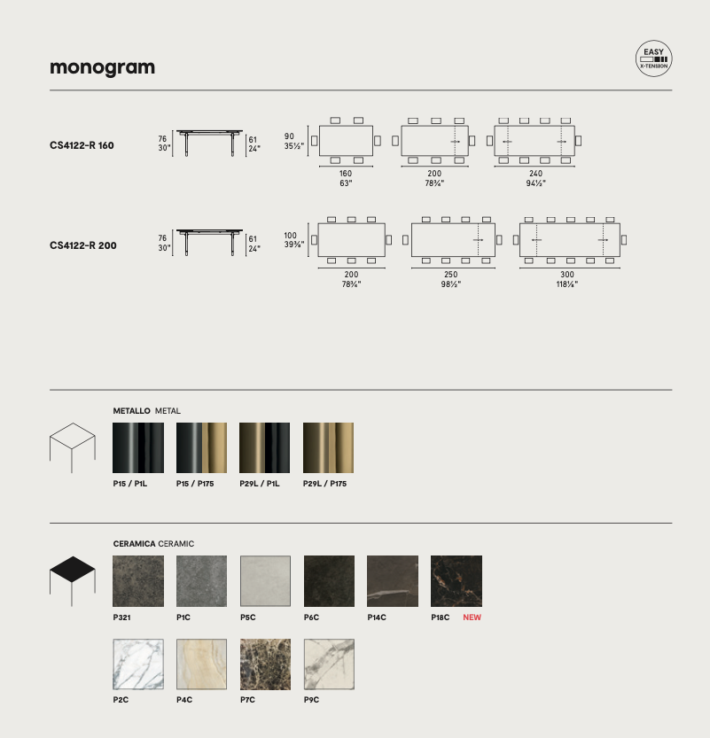 Calligaris Monogram