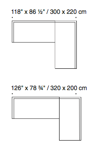 Eilersen Plano Sofa Dimensions